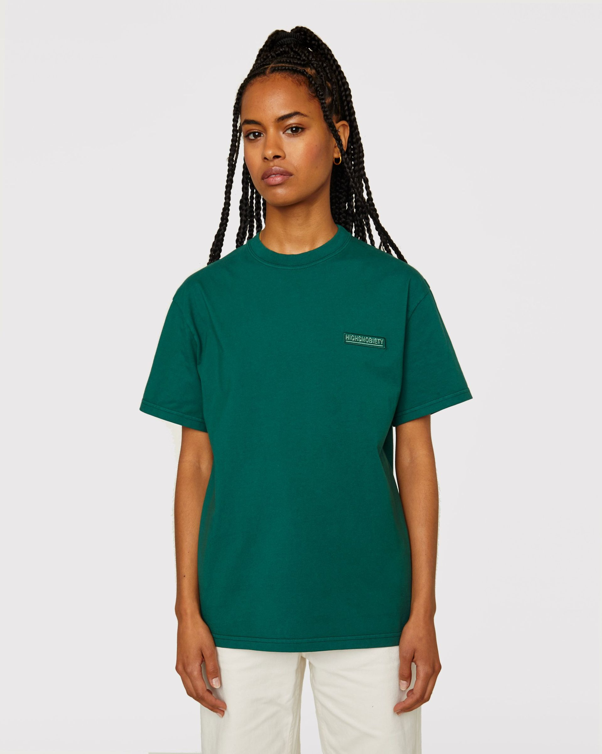 Highsnobiety Staples - T-Shirt Green - Image 6