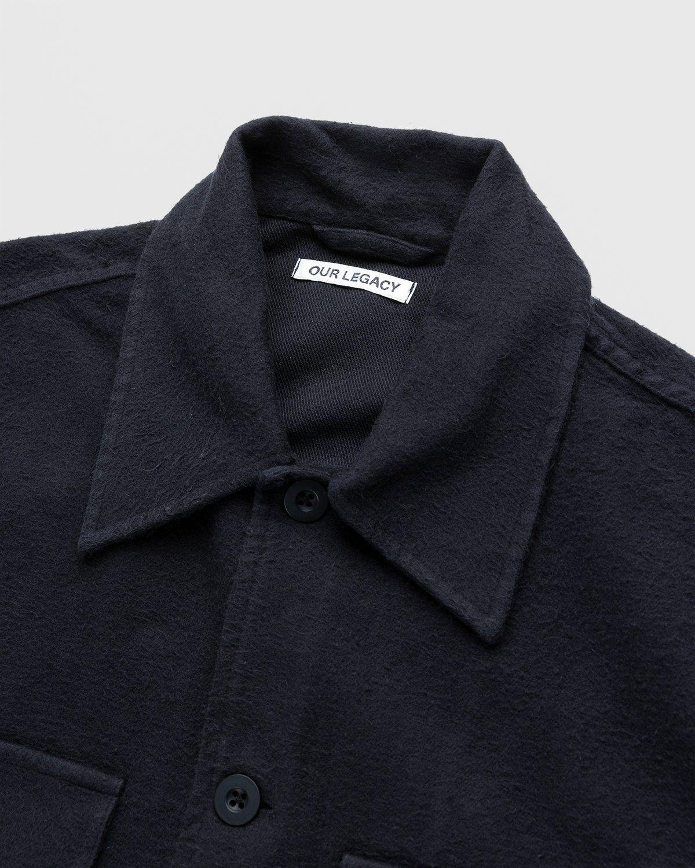 Our Legacy – Evening Coach Jacket Black Brushed - Image 3