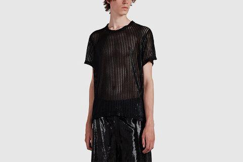 Coated Mesh T-Shirt