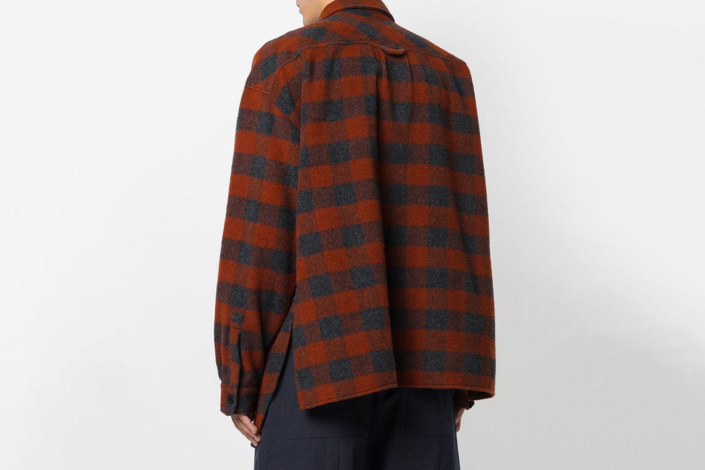 Plaid Loose Shirt