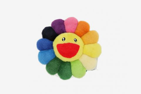Rainbow Flower Cushion 30cm