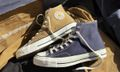These Converse Chuck 70s Are Made From Vintage Carhartt Garments