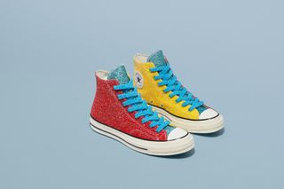 """c46fd78c737f JW Anderson Gives Converse s Chuck 70 New """"Glitter"""" Colorways"""