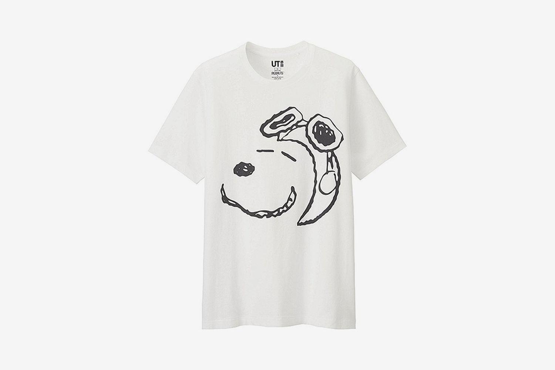 Peanuts Short-Sleeve Graphic T-Shirt