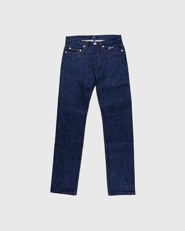 A.P.C. x Highsnobiety — Denim Jeans Blue - Image 1
