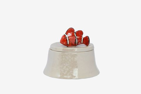Clownfish Porcelain Container