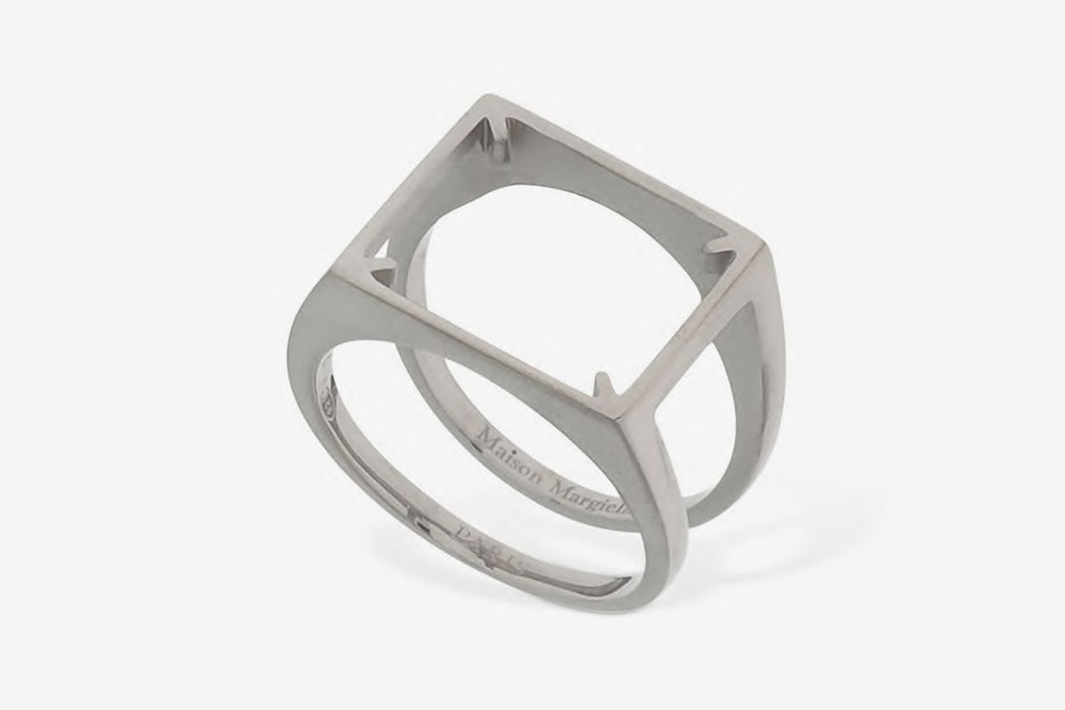 Silver Empty Ring