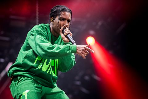 asap rocky performing in sweden
