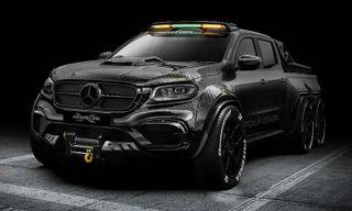 Carlex Design's Mercedes-Benz X-Class Is an Absolute Monster