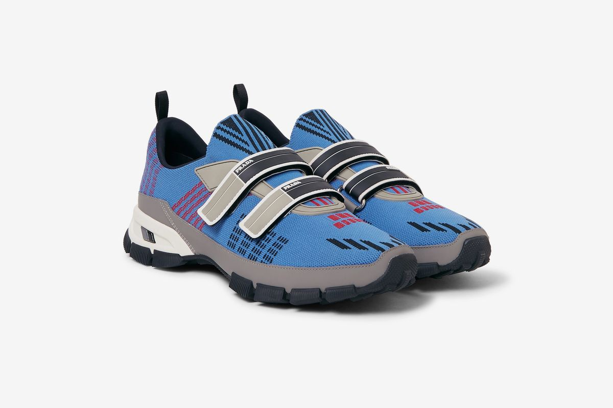 Trail Rubber Trimmed Mesh Sneaker