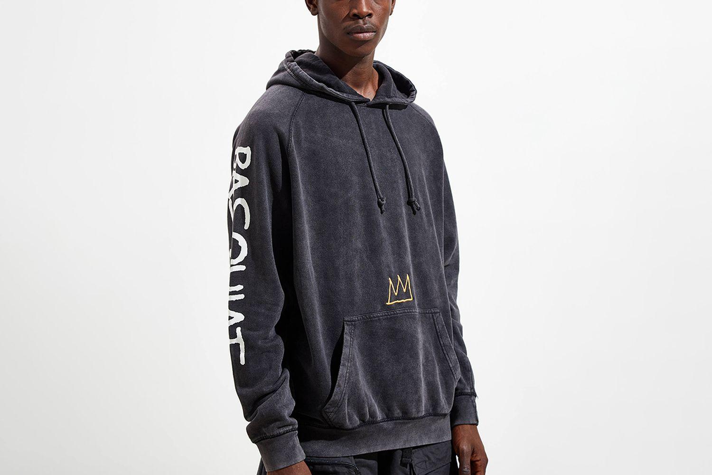 Basquiat Pigment Dye Hoodie