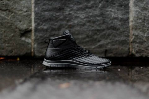"newest 34ed8 28117 Nike Free Hypervenom Mid ""Black Grey"""