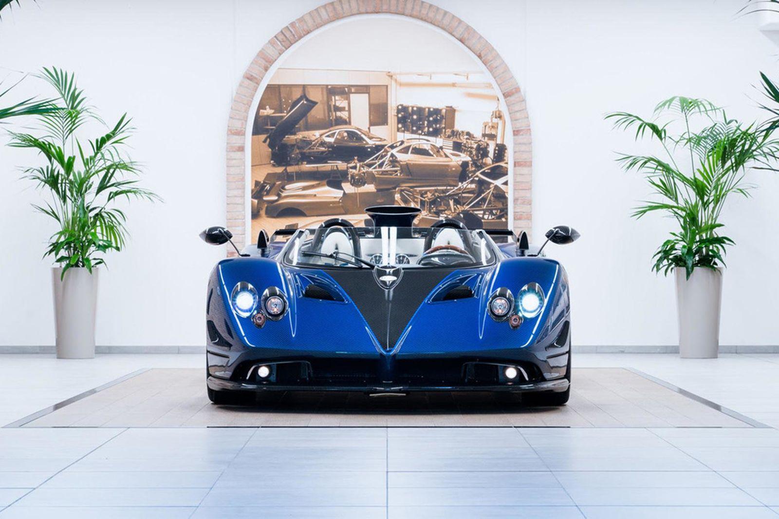 Pagani S 17 5 Million Zonda Hp Barchetta Is The Most Expensive Car In The World