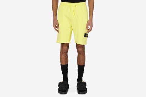 Fleece Cargo Shorts