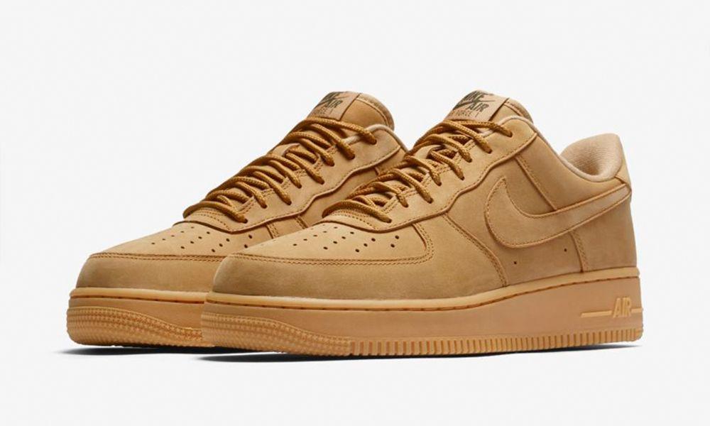 nike air force 1 wheat