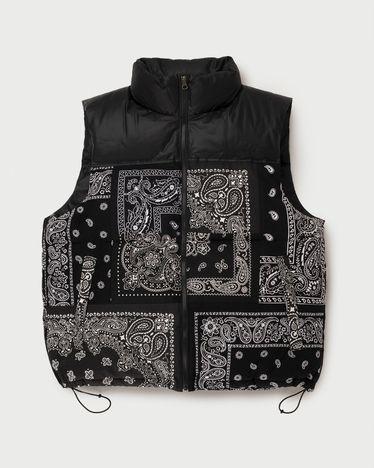 Miyagihidetaka Bandana Vest Black