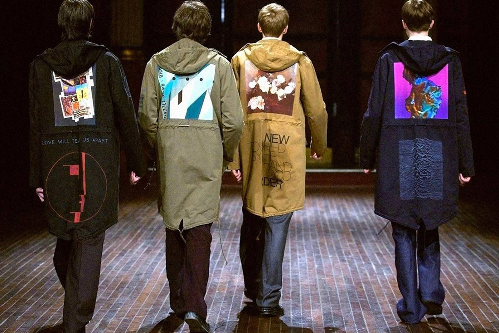 Raf Simons x Peter Saville Fall / Winter 2003
