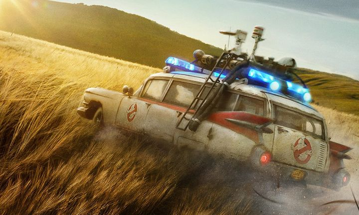 Ecto-1 car Ghostbusters Afterlife trailer