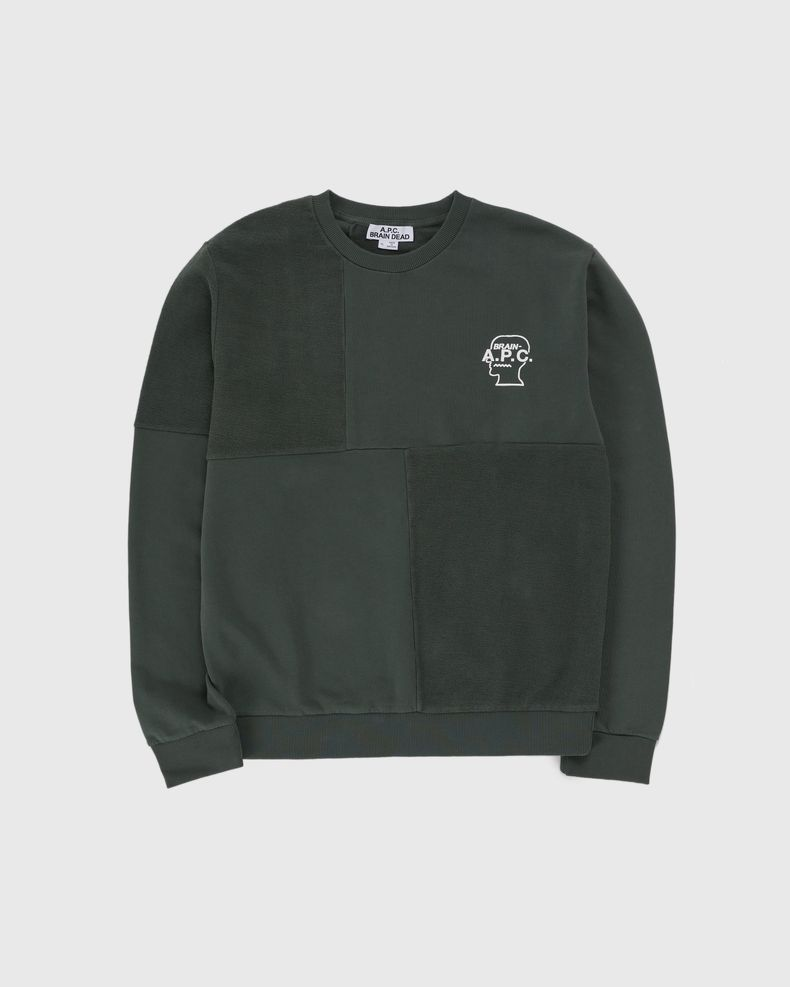 A.P.C. x BRAIN DEAD — Pony Grey Green