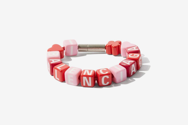 Toy Logo Beaded Bracelet