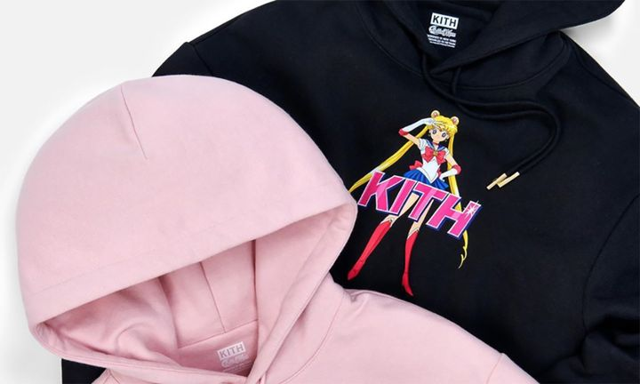KITH Sailor Moon hoodies