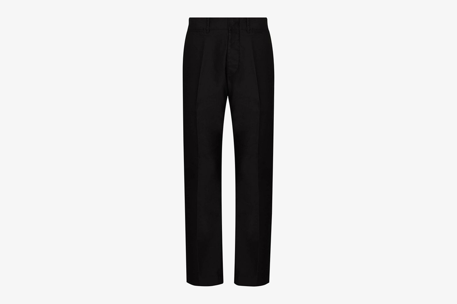 Slim Tailored Cotton Trousers
