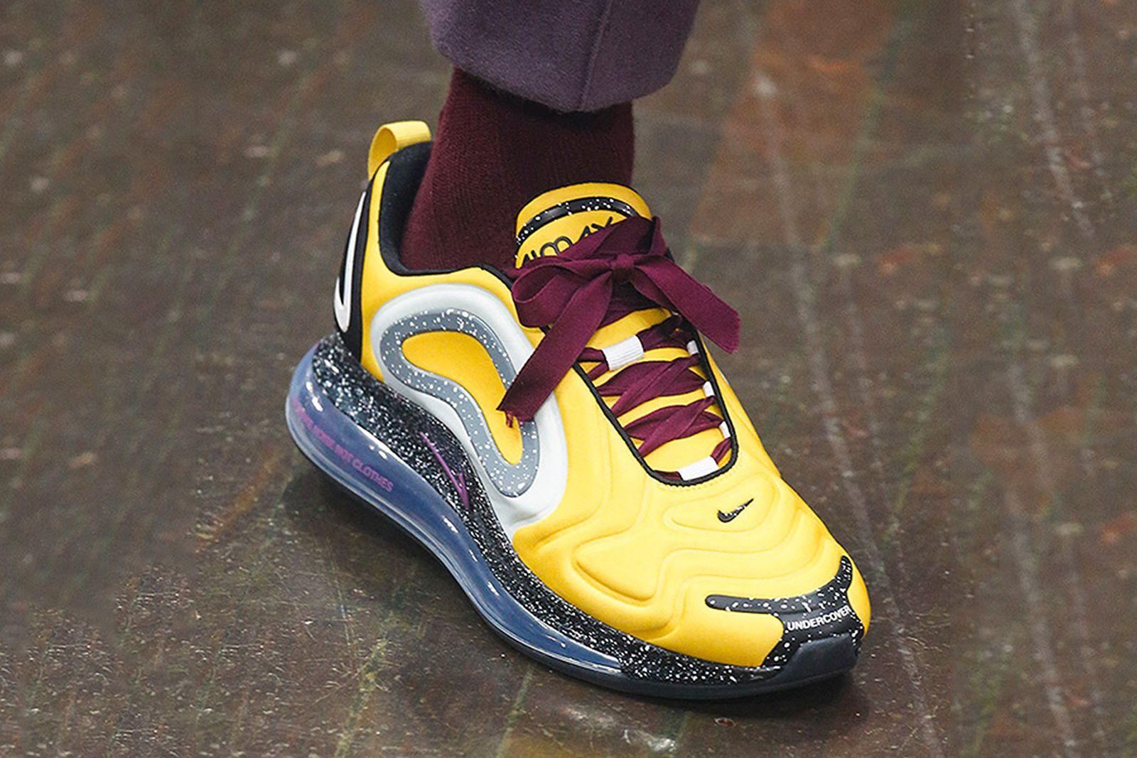 best sneaker collabs paris fashion week fw19 Adidas Heron Preston Nike