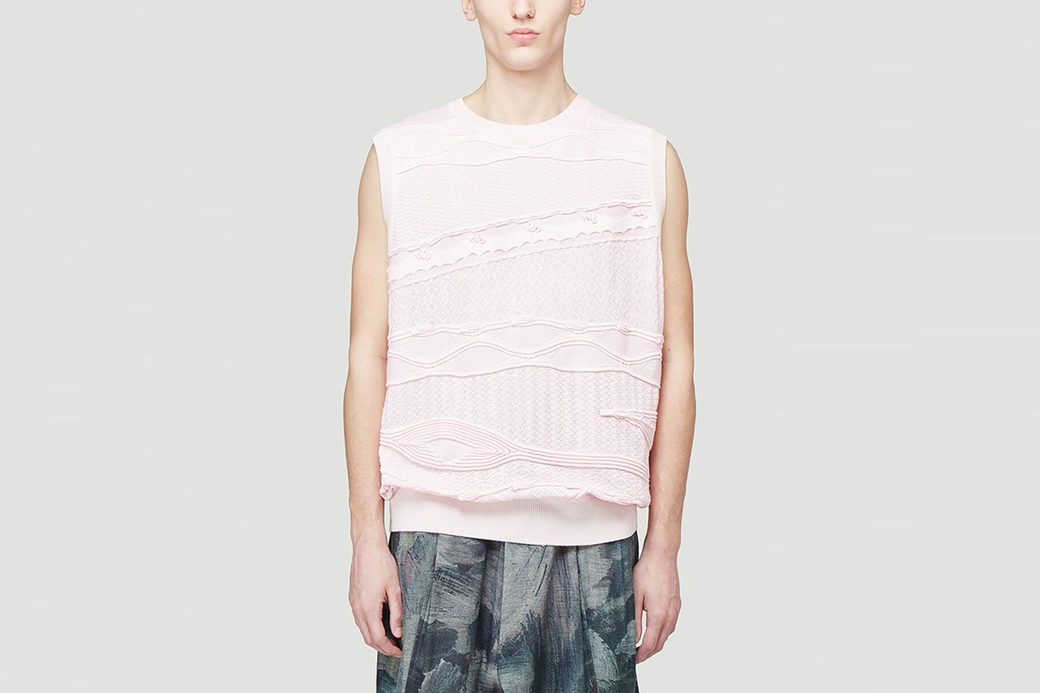 Knitted Vest Top