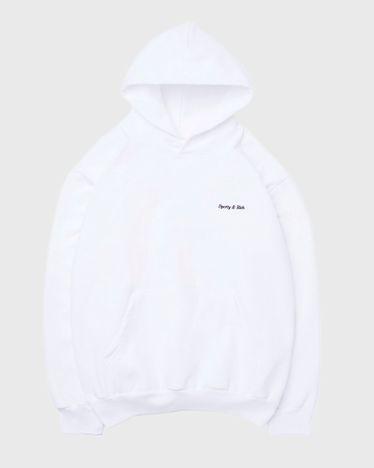 Classic Logo Hoodie White