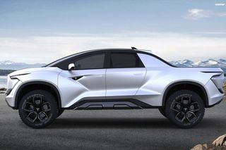Tesla Model X Range >> Concept Art Imagines Tesla's New Futuristic Pickup Truck