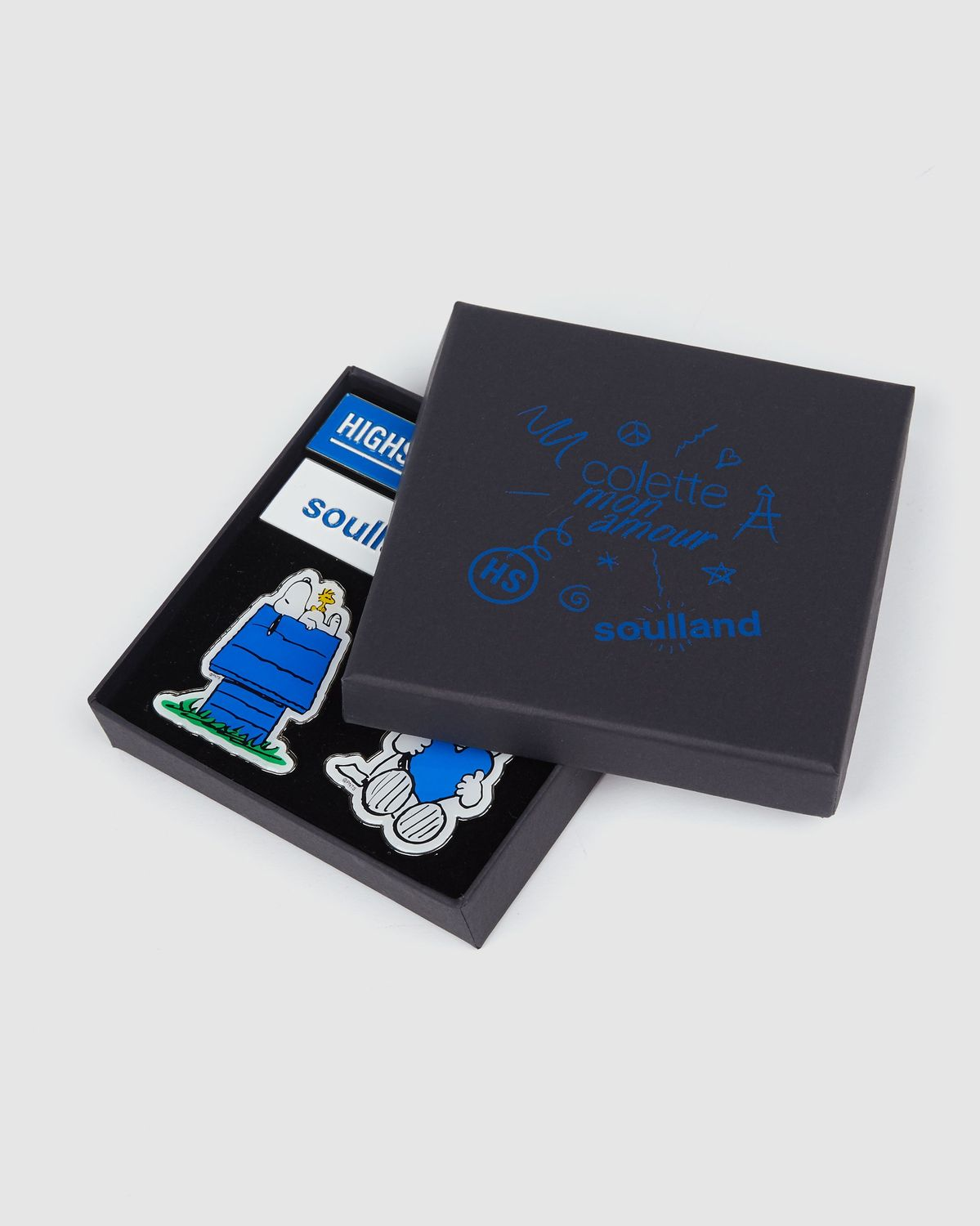 Colette Mon Amour x Soulland -  Snoopy Pin Set - Image 2
