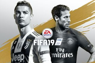 official photos 8f0d2 59957 Cristiano Ronaldo Dons Juventus Kit in Updated 'FIFA 19' Covers