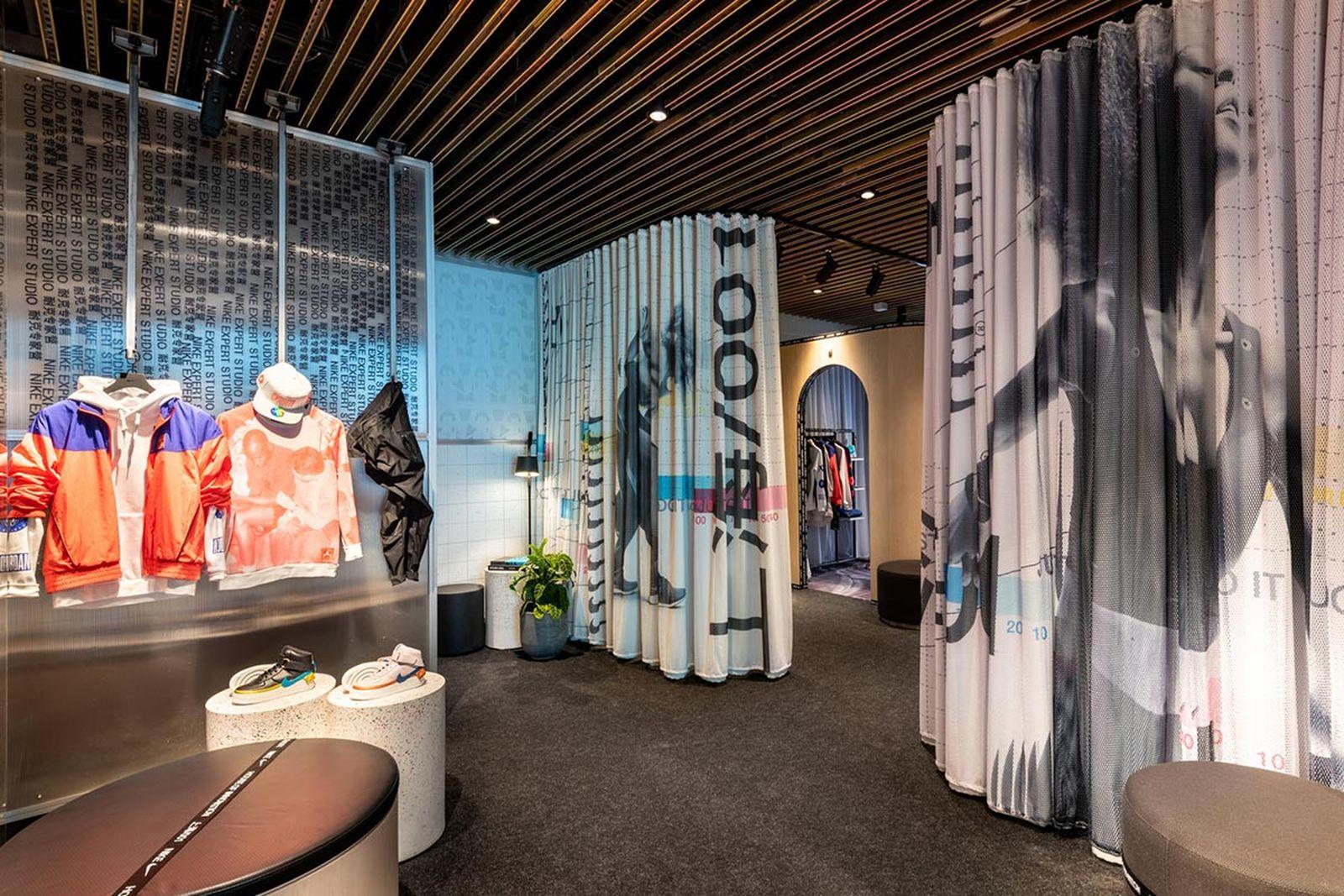 nike shanghai 001 new innovative store
