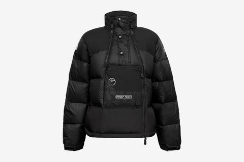 Steep Tech Twill-Panelled Printed Quilted Nylon-Ripstop Hooded Down Jacket