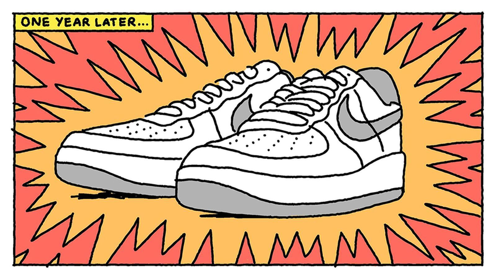 oído Charles Keasing parásito  Nike Shares an Illustrated History of the Air Force 1
