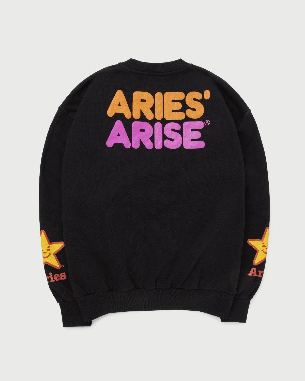 Aries - Fast Food Sweatshirt Black - Image 1