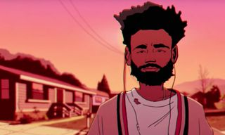 """Childish Gambino's Illustrated """"Feels Like Summer"""" Video Is Packed With Rapper Cameos"""