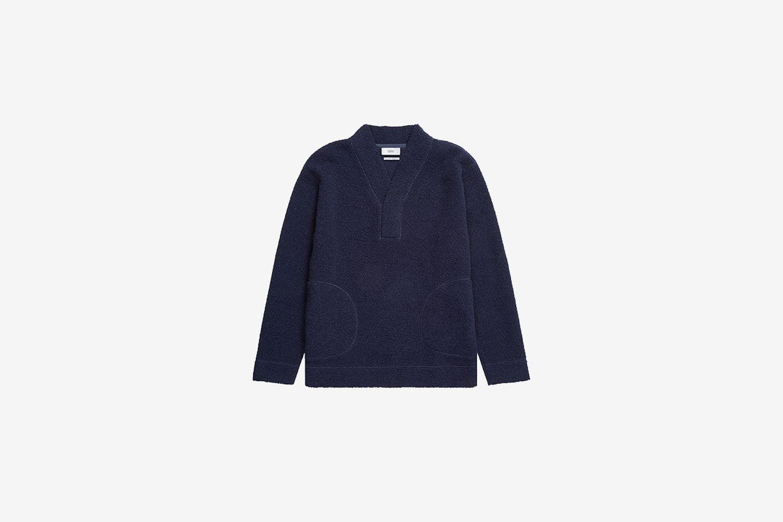 Italian Wool Mix Sweatshirt