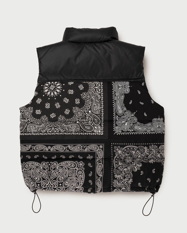 Miyagihidetaka Bandana Vest Black - Image 4