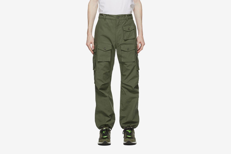 Cotton Ripstop Cargo Pants