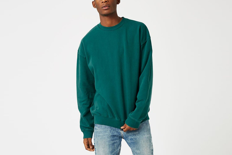 Side Panel Oversized Sweater