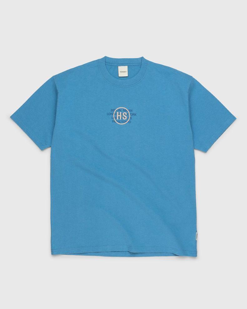 Highsnobiety – Logo T-Shirt Blue