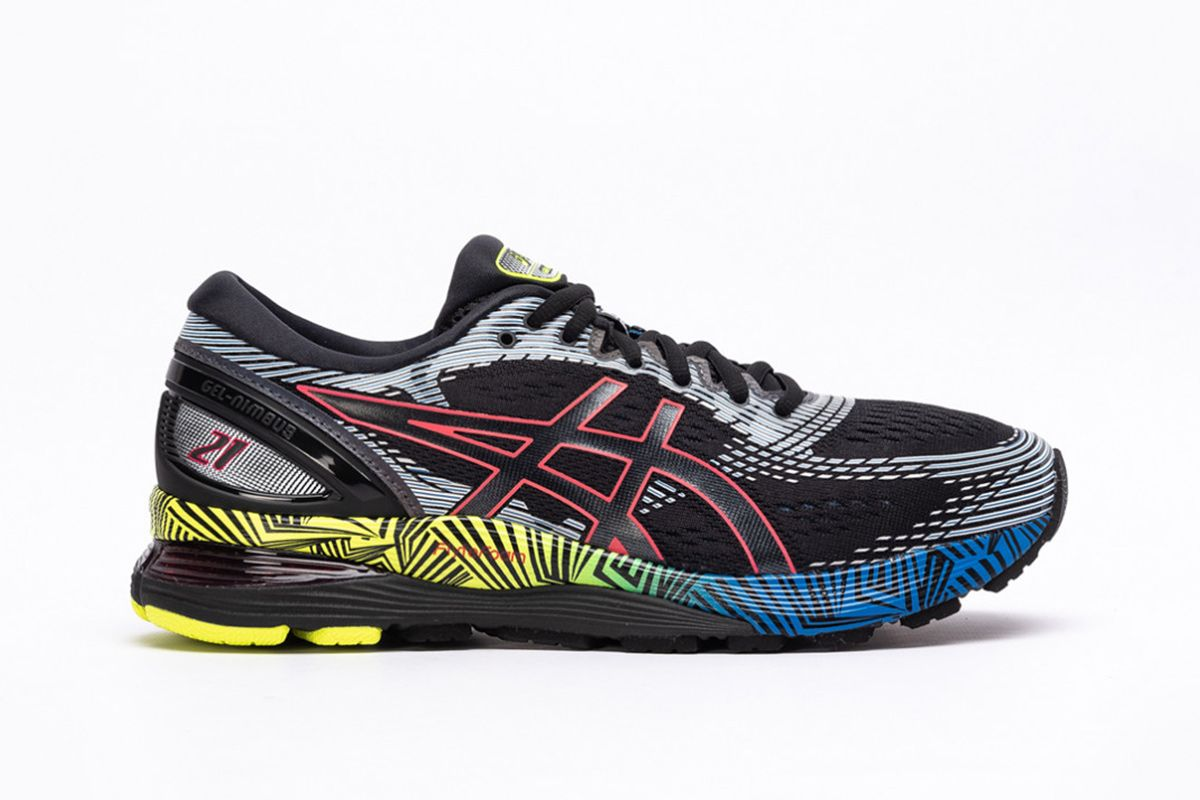 ASICS's Colorful GEL-Nimbus 21 Is Available to Shop Now