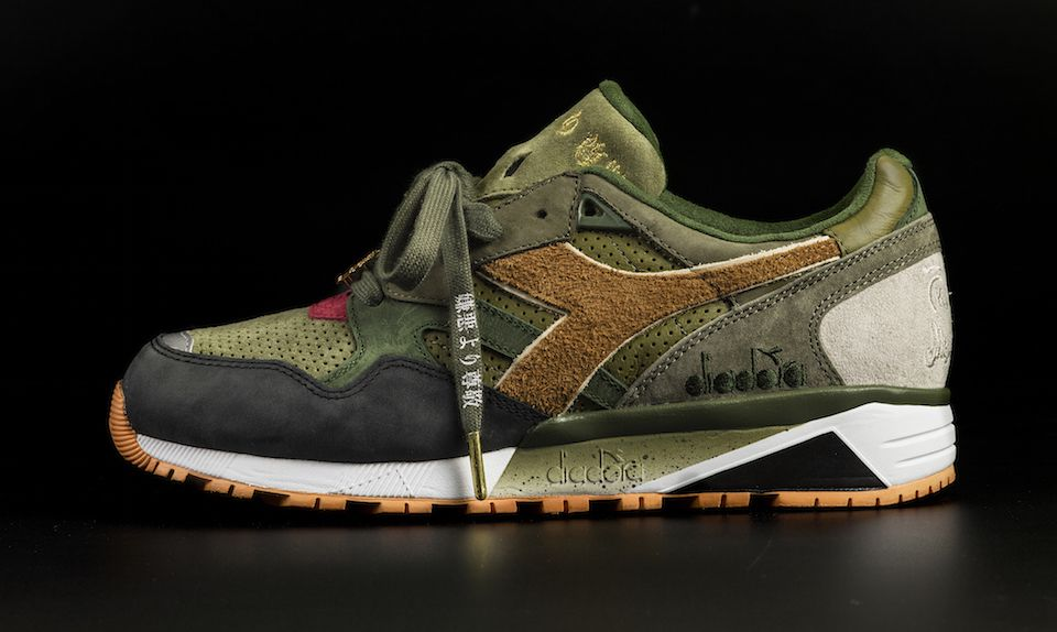 24 Kilates x mita sneakers x Mighty Crown x Diadora N.9002