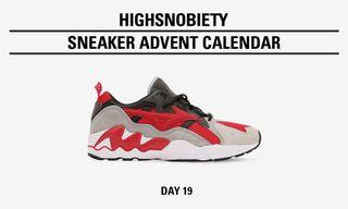 Win the Highsnobiety x Mizuno Wave Rider Phoenix in Today's Highsnobiety Advent Calendar