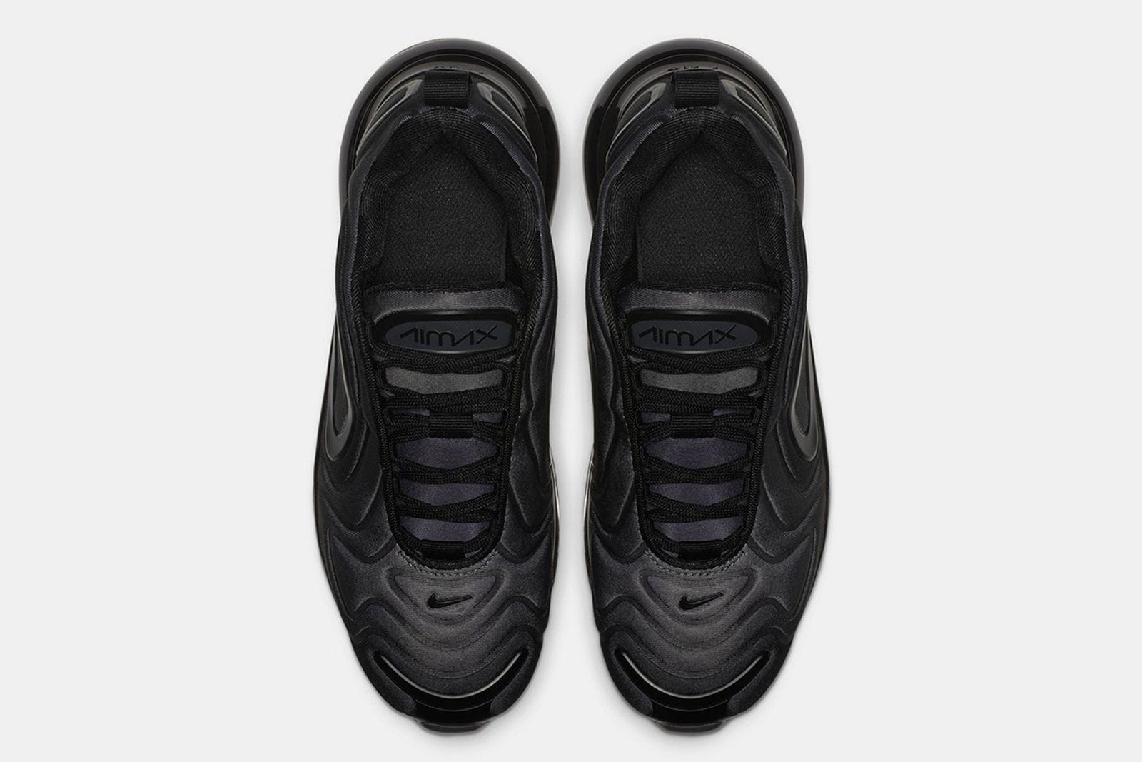 nike air max 720 triple black release date price info