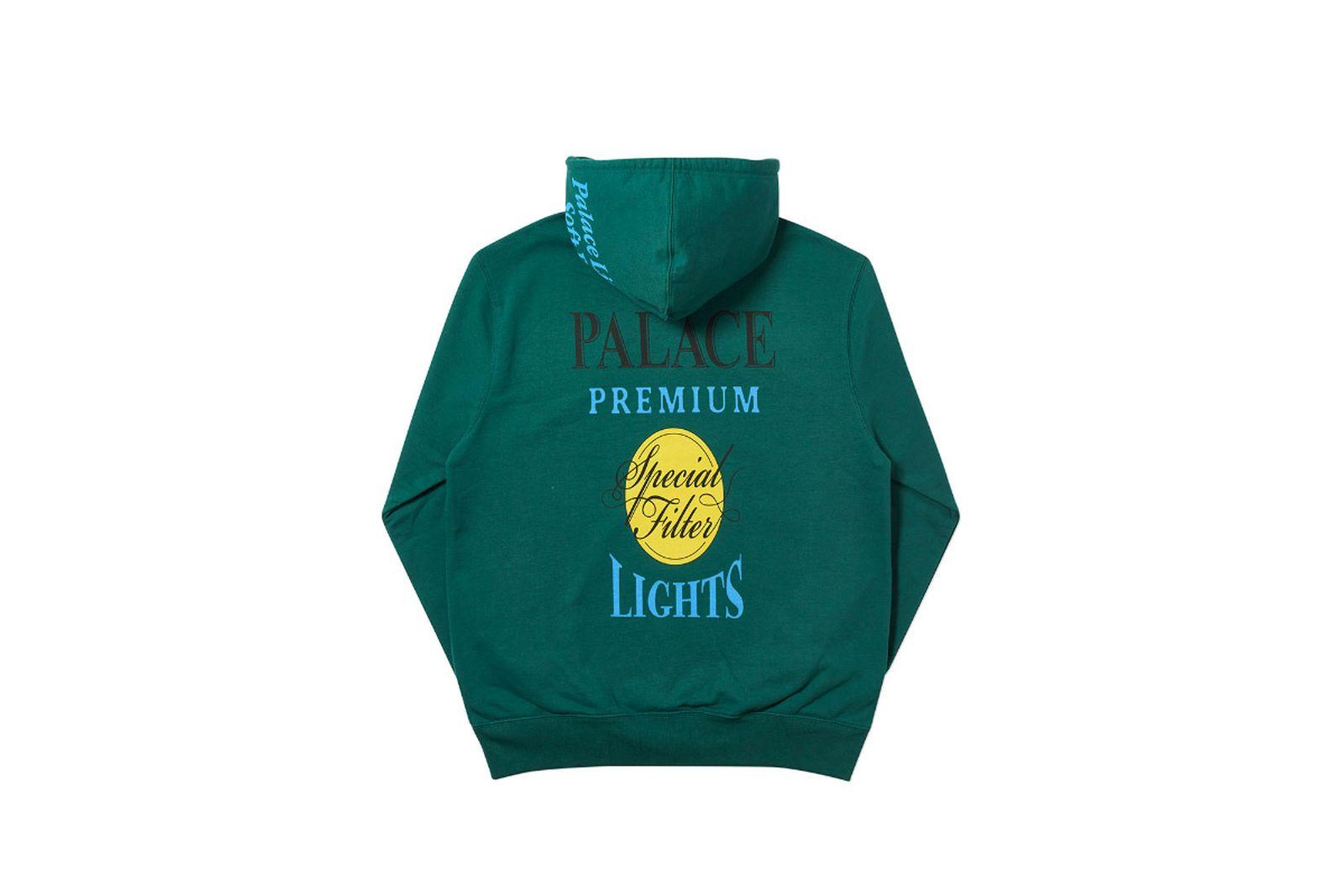 Palace 2019 Autumn Hood Blender green back