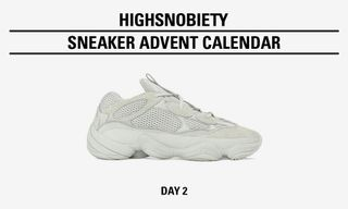"Win the adidas Originals YEEZY 500 ""Salt"" In Today's Highsnobiety Advent Calendar"