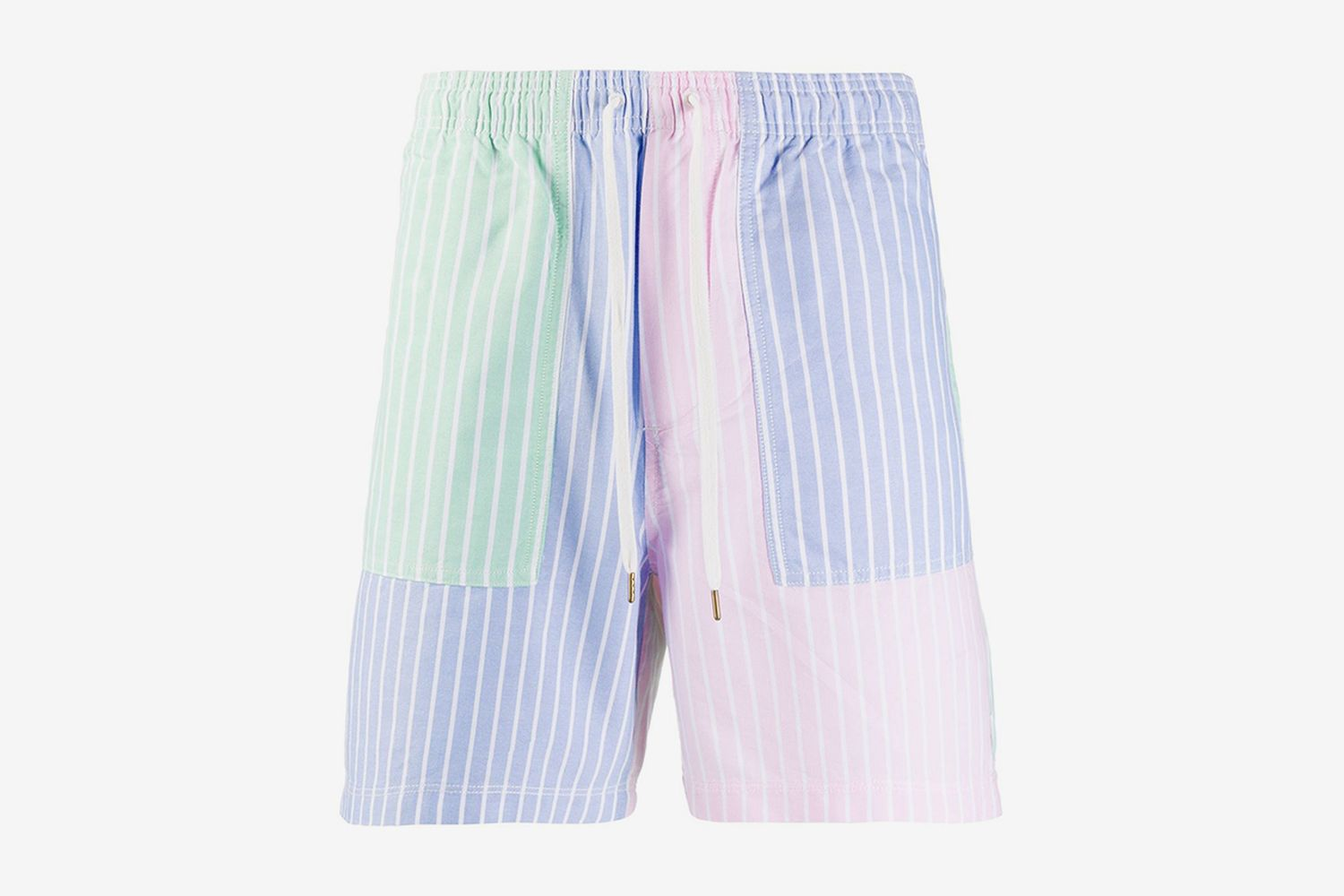 Striped Deck Shorts