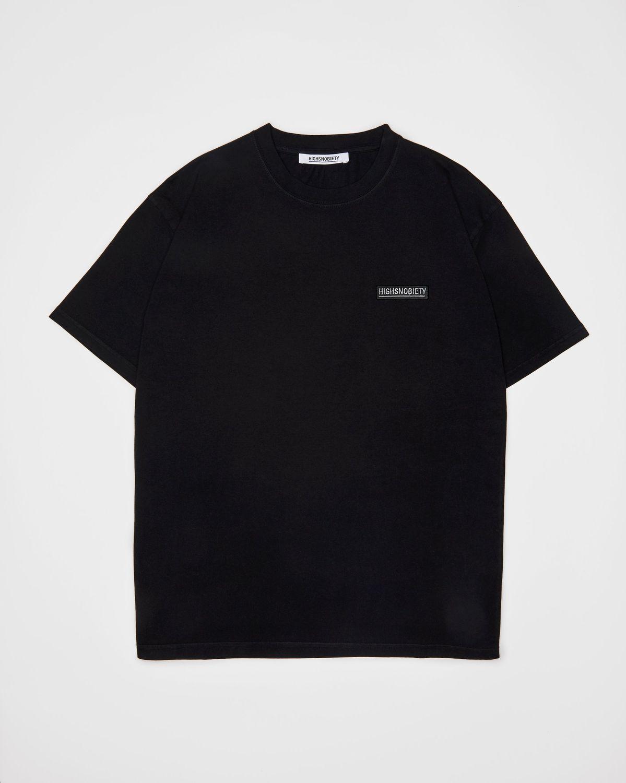 Highsnobiety Staples — T-Shirt Black - Image 1